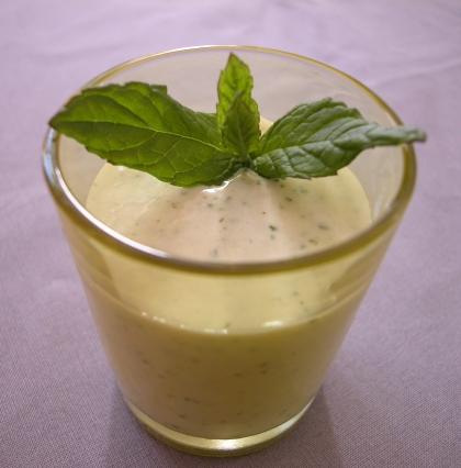 mintcoconutpineapple smoothie
